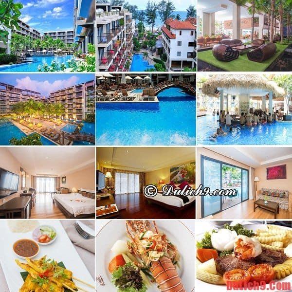 Khách sạn, khu nghỉ dưỡng 4 sao hiện đại, chất lượng nổi tiếng được yêu thích nhất ở Phuket - Du lịch Phuket nên ở khách sạn nào? Khách sạn đẹp, giá rẻ ở Phuket vị trí thuận tiện