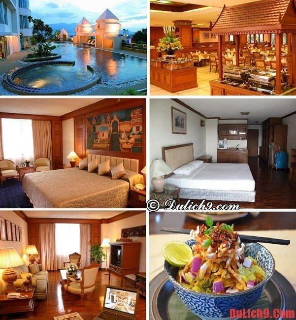 Khách sạn hiện đại, an toàn, gần trung tâm và các điểm du lịch nổi tiếng Chiang Mai nên ở nhất