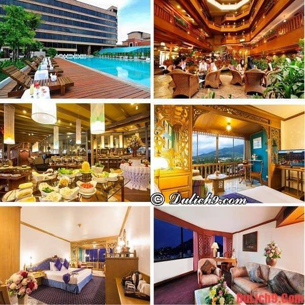 Khách sạn đẹp, sang trọng, cao cấp, view đẹp, được ưa chuộng và lựa chọn đặt phòng nhiều nổi tiếng Chiang Mai