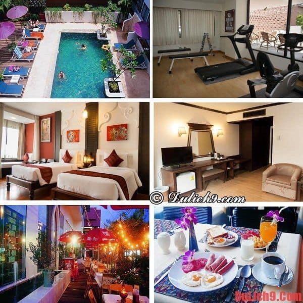 Khách sạn bình dân, giá tốt, hiện đại, chất lượng, sạch đẹp được đánh giá cao và đặt phòng nhiều nên ở khi du lịch Chiang Mai