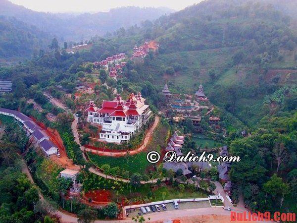 Khách sạn sang trọng, hạng sang, tiện nghi hiện đại, tầm nhìn đẹp, gần trung tâm và đẹp nhất Chiang Mai