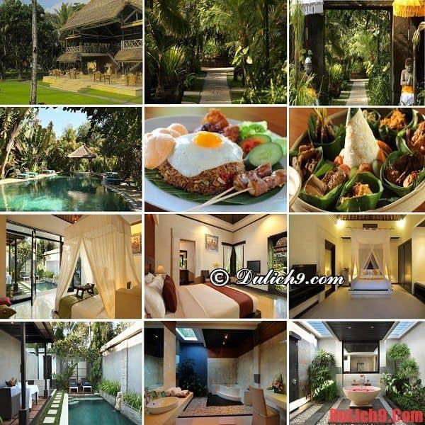 Khách sạn 4 sao cao cấp, gần trung tâm và các địa điểm du lịch nổi tiếng giá dưới 100 USD ở Bali, Indonesia