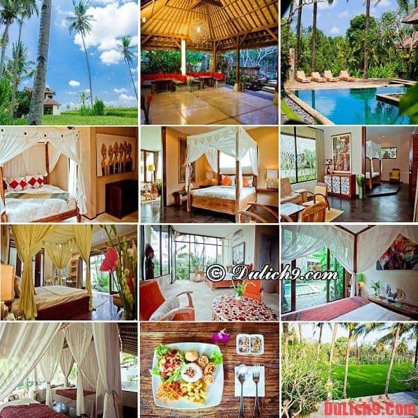 Khách sạn 4 sao tuyệt đẹp giá dưới 100 USD nổi tiếng ở Bali, Indonesia