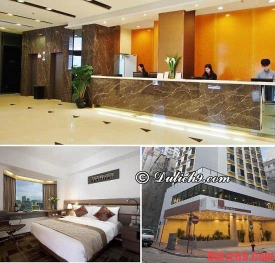 Khách sạn 3 sao hiện đại ở Hồng Kông