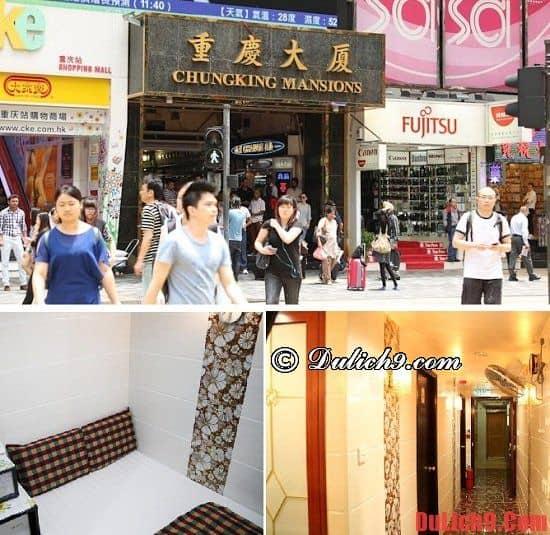 Khách sạn bình dân, giá rẻ ở Hồng Kông phòng đẹp và gần điểm du lịch