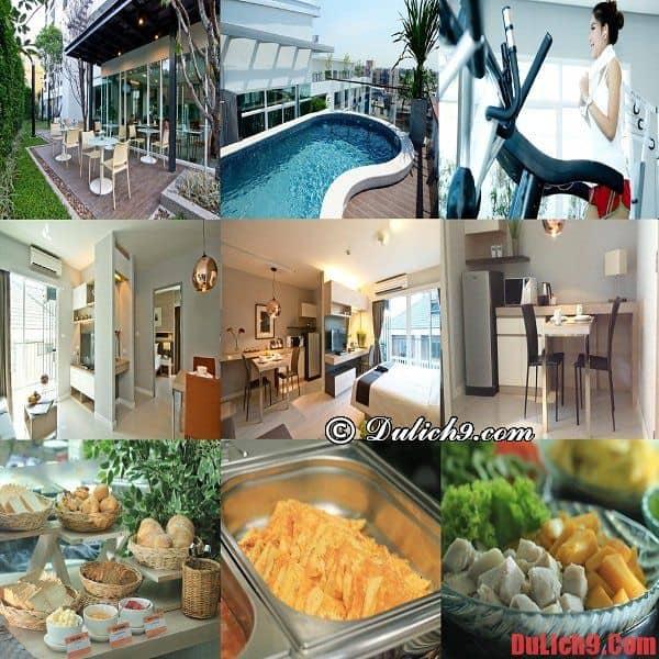 Khách sạn bình dân, giá rẻ, chất lượng và hiện đại ở khu Sukhumvit, Bangkok