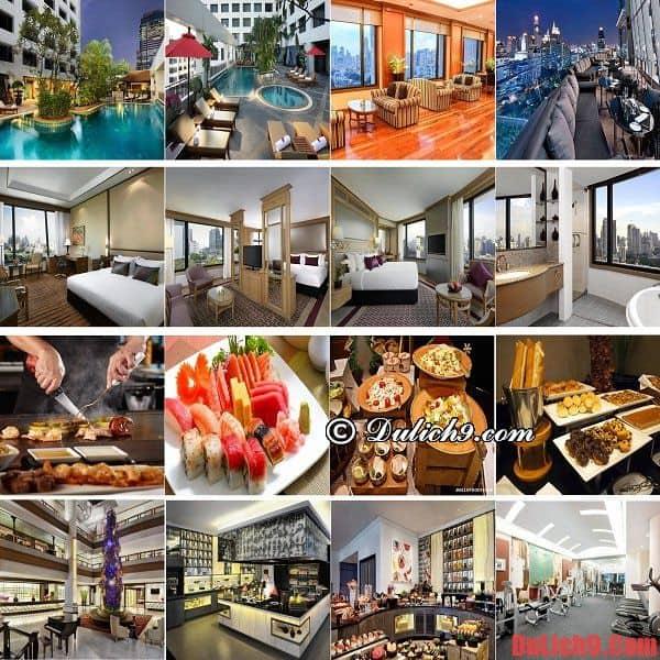 Khách sạn Bangkok cao cấp, view đẹp, độc đáo được đặt phòng nhiều nhất ở khu Sukhumvit