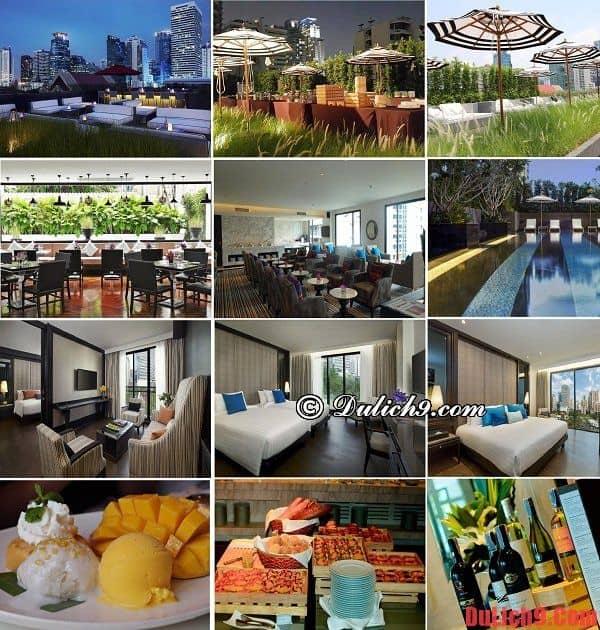 Khách sạn hiện đại, chất lượng, tiện nghi dịch vụ tốt ở khu Sukhumvit, Bangkok đang giảm giá nên ở nhất