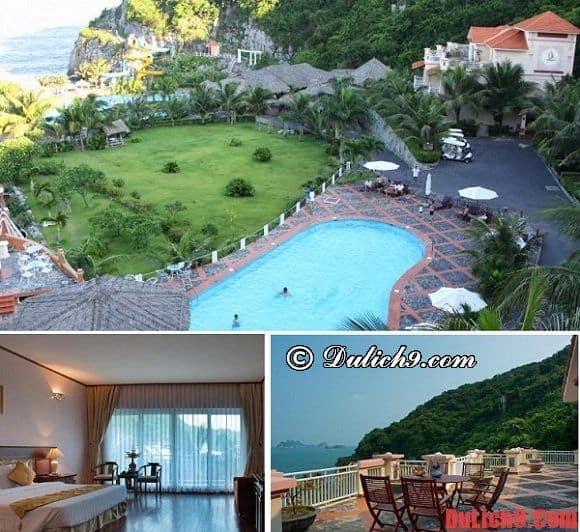 Khu nghỉ dưỡng cao cấp ở đảo Cát Bà. Nên ở khách sạn nào khi du lịch đảo Cát Bà. Du lịch đảo Cát Bà nên ở khách sạn nào?