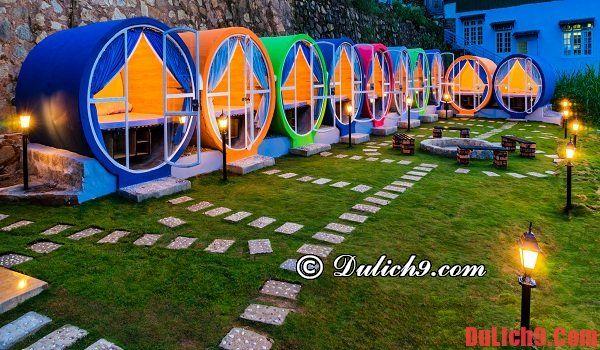 Khám phá khách sạn ống tròn độc đáo, view đẹp, giá rẻ nhất Đà Lạt - Chỉ 200.000 VND/đêm