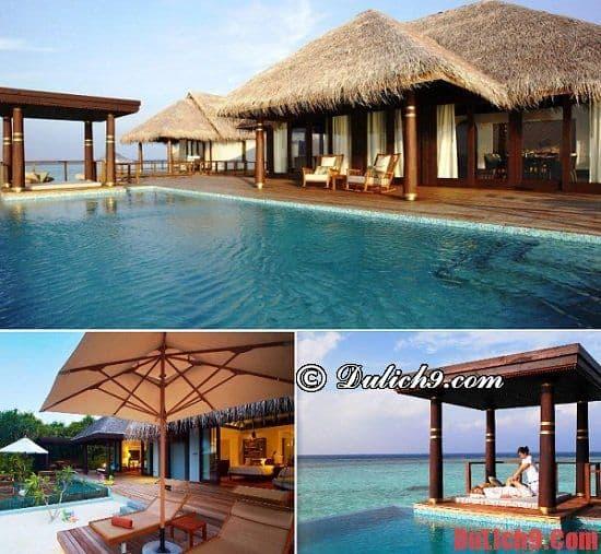 Resort sang trọng ở Maldives