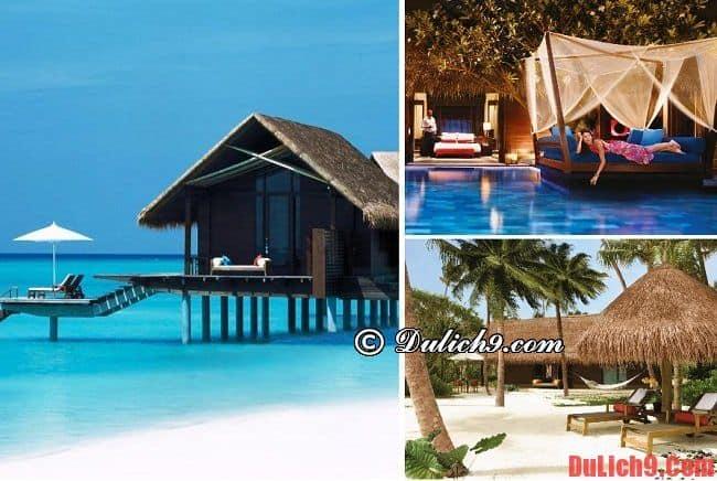 Resort nổi tiếng ở Maldives