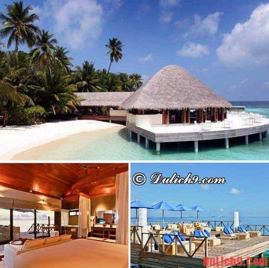 Nên thuê resort nào ở Maldives?