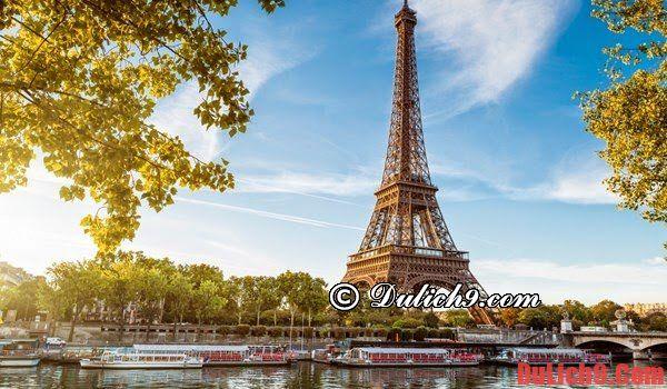 Khách sạn sang trọng ở Paris. Du lịch Paris nên ở khách sạn nào? Khách sạn cao cấp, tiện nghi đầy đủ ở Paris