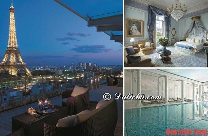 Khách sạn đẹp và chất lượng tốt ở Paris