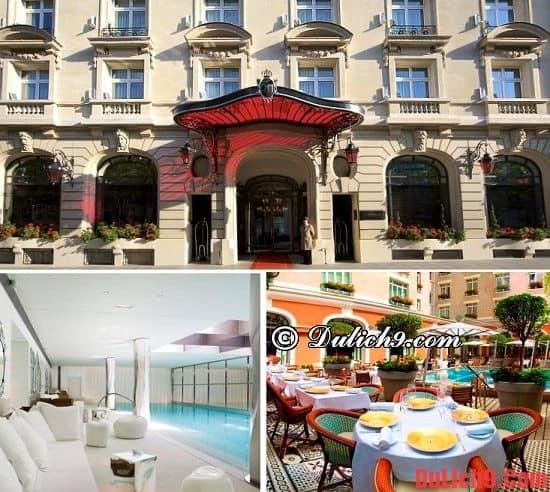 Khách sạn hiện đại, tiện nghi, chất lượng ở Paris. Du lịch Paris nên ở khách sạn nào?