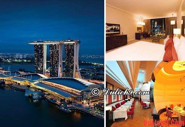 Khu nghỉ dưỡng, khách sạn 5 sao ở Singapore đẳng cấp