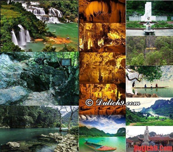 Những địa điểm tham quan du lịch nên đến ở khi khám phá thác Bản Giốc