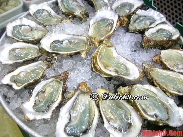 Kinh nghiệm du lịch Hồ Tràm về ăn uống