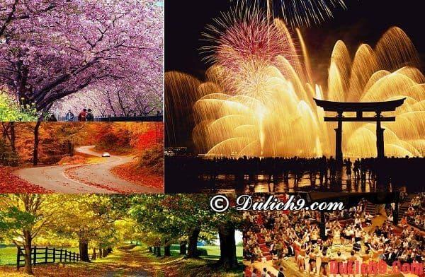 Thời điểm du lịch Tokyo, Nhật Bản thích hợp nhất