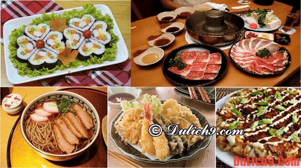 Những món ăn ngon đặc sản nhất định phải thưởng thức khi du lịch Tokyo, Nhật Bản