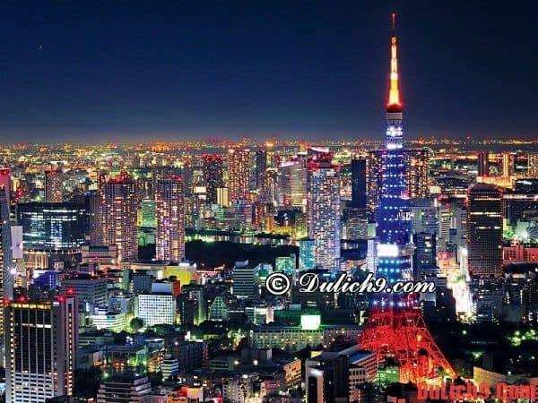 Kinh nghiệm và tư vấn du lịch Tokyo, Nhật Bản tự túc, giá rẻ và thuận lợi, vui vẻ