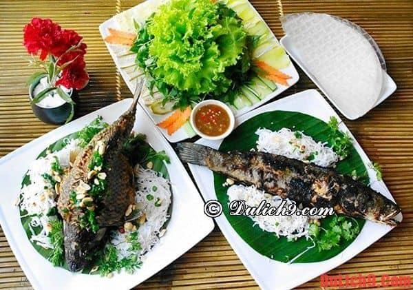 Du lịch Đồng Tháp mùa nước nổi ăn món ngon đặc sản gì?