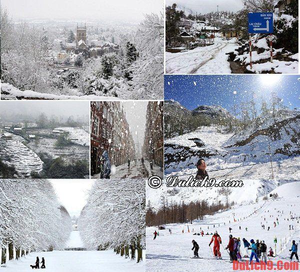 Những địa điểm ngắm tuyết rơi trong và ngoài nước nên đến khi du lịch mùa thu - đông