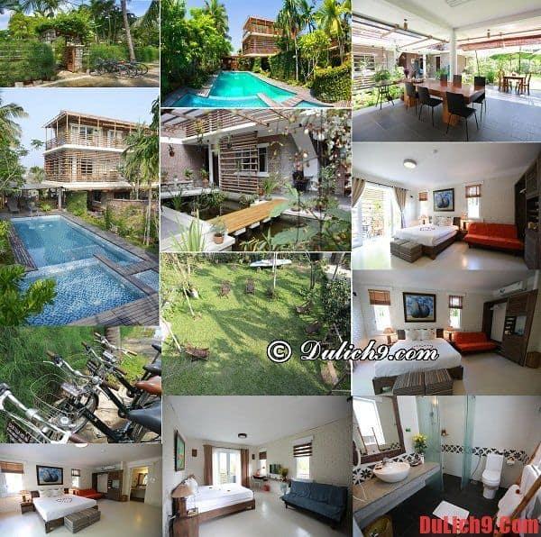 Rock Villa - Khách sạn 3 sao đẹp, chất lượng, tốt và được đánh giá cao nên ở khi du lịch Hội An