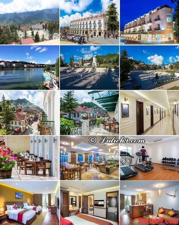 Khách sạn 4 sao đẹp, sang trọng, view đẹp và gần trung tâm nhất ở Sapa