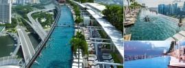 Khách sạn đẳng cấp có hồ bơi đẹp, độc đáo và sáng tạo nhất thế giới ở Singapore