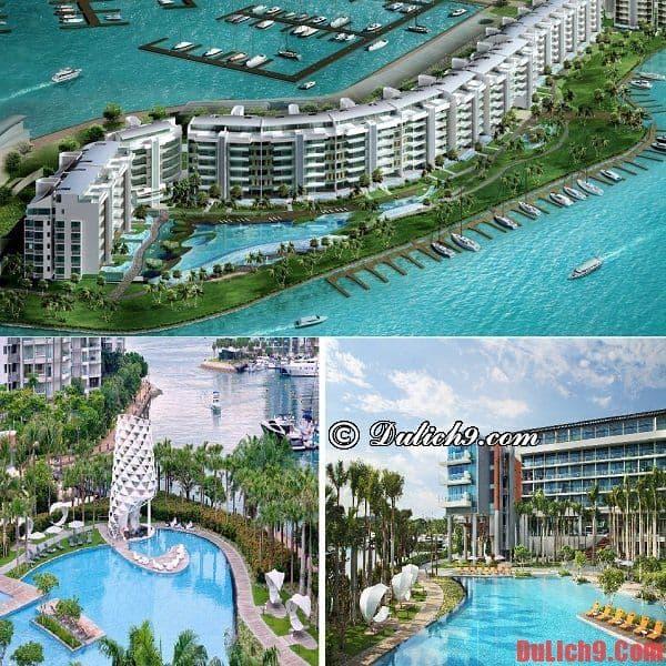Khách sạn sang trọng, nổi tiếng có hồ bơi rộng lớn, hấp dẫn và tuyệt vời nhất Singapore