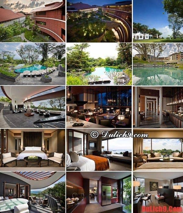 Khách sạn, khu nghỉ dưỡng sang trọng, đẳng cấp được yêu thích và đánh giá cao ở Singapore
