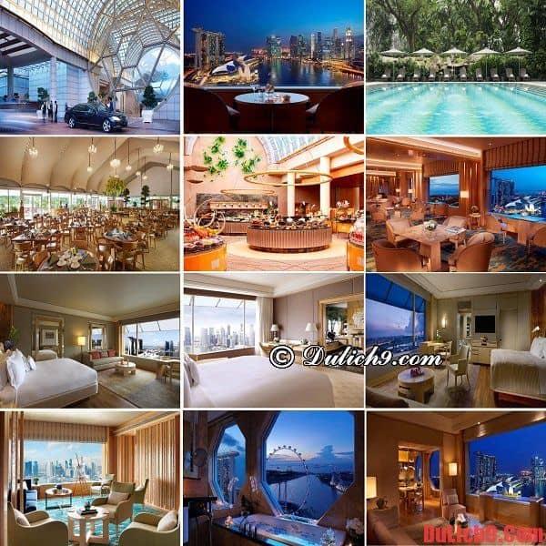 khách sạn độc đáo, ấn tượng, đẳng cấp thế giới được ưa chuộng và hút khách nhất Singapore