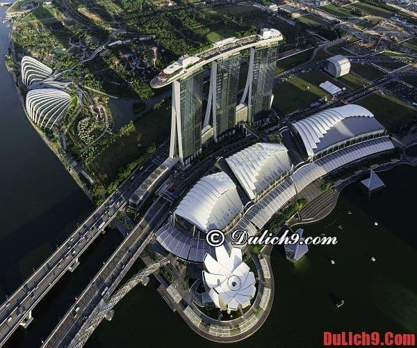 Khách sạn đẳng cấp và đắt đỏ nhất thế giới ở Singapore
