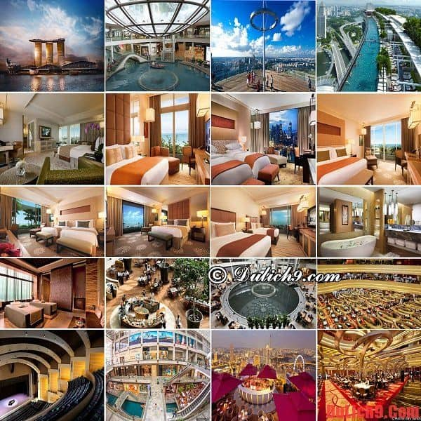 Khách sạn cao cấp, sang trọng, độc đáo nhất thế giới ở Singapore
