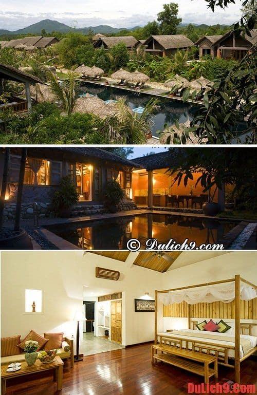 Khách sạn, khu nghỉ dưỡng đẹp, tiện nghi hiện đại, chất lượng phục vụ tốt, yên tĩnh, nhưng giá cả hợp lý ở Huế