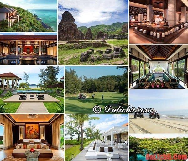 Khách sạn, khu nghỉ dưỡng cao cấp, sang trọng, độc đáo và được đánh giá cao nên ở khi du lịch Huế
