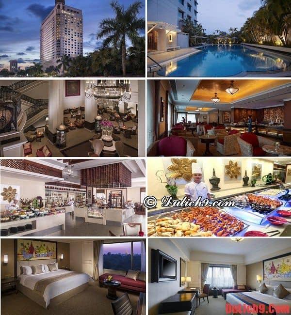 Du lịch Yangon nên ở khách sạn nào? Khách sạn đẹp, sang trọng, gần trung tâm và các điểm du lịch nổi tiếng Yangon nên ở nhất