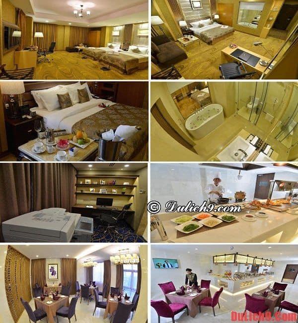 Khách sạn chất lượng, tiện nghi và dịch vụ tốt gần trung tâm được ưa chuộng và đánh giá cao nên ở khi du lịch Yangon, Myanmar