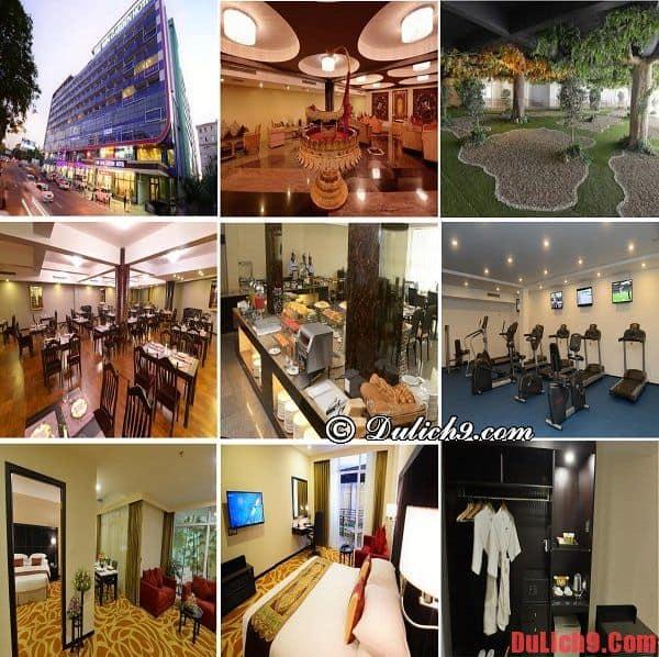 Khách sạn 4 sao cao cấp, tiện nghi hiện đại, gần trung tâm được yêu thích và lựa chọn nhiều nhất ở Yangon, Myanmar