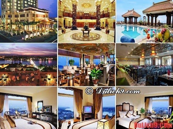 Khách sạn cao cấp, độc đáo và nổi tiếng của du lịch Huế