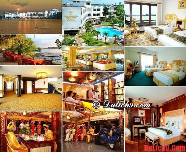 Khách sạn độc đáo, tiện nghi và view đẹp nên ở khi du lịch Huế