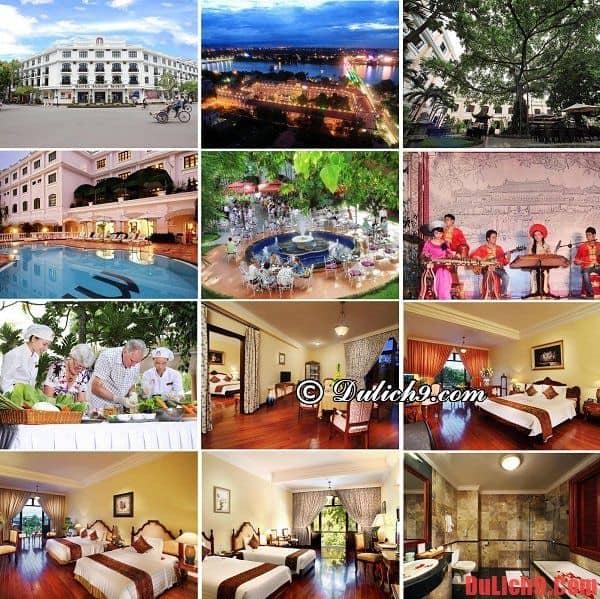 Khách sạn 5 sao độc đáo, cao cấp, sang trọng và tiện nghi nên ở khi du lịch Huế
