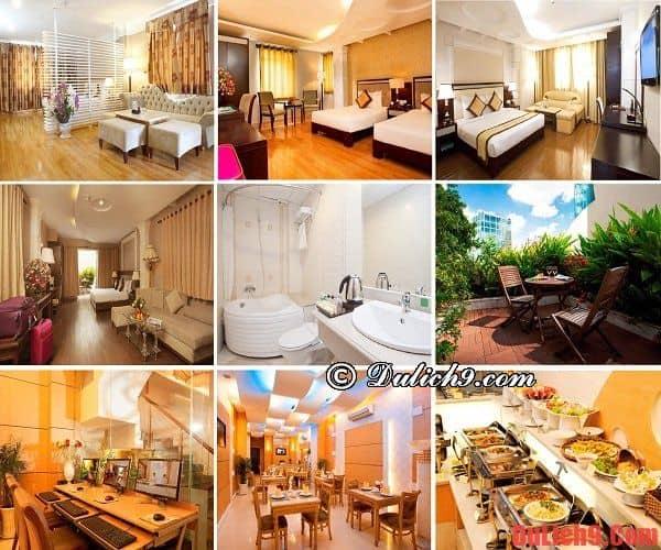 Khách sạn tốt, chất lượng, tiện nghi giá dưới 100 USD nên ở khi du lịch Sài Gòn