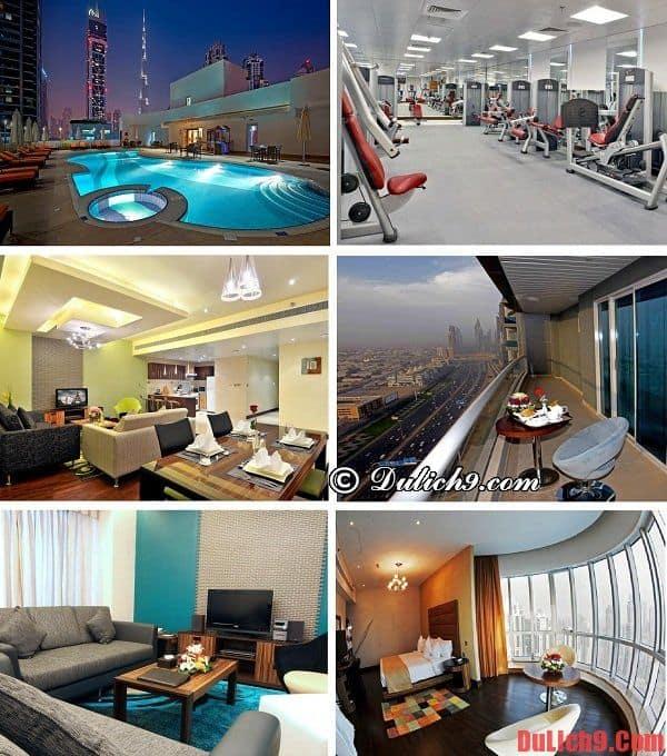 Khách sạn có tầm nhìn đẹp, tiện nghi hiện đại, dịch vụ tốt và tầm nhìn đẹp được yêu thích và đặt phòng nhiều nhất Dubai