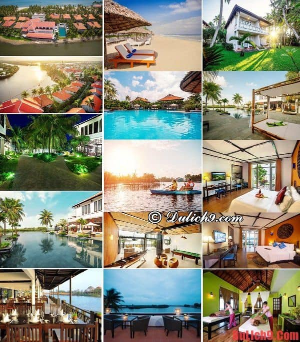 Khách sạn, khu nghỉ dưỡng Hội An cao cấp, tiện nghi hiện đại, sạch đẹp và có vị thế đẹp nhất miền Trung