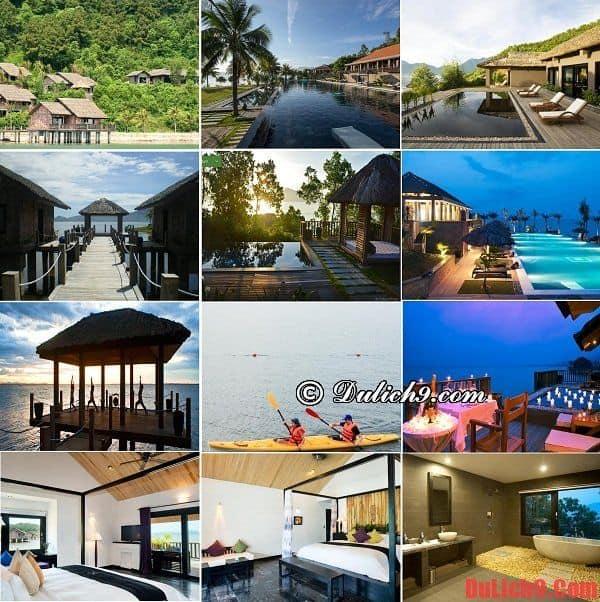 Khách sạn 5 sao sang trọng, cao cấp được ưa chuộng và đánh giá tốt nên ở khi du lịch Huế