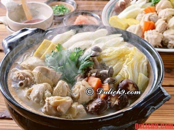 Lẩu Chankonabe - Du lịch Tokyo nếm thử món ngon đặc sản bổ dưỡng và độc đáo