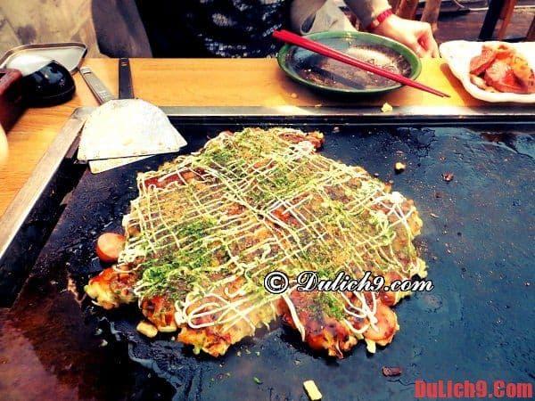Monjayaki - Thưởng thức những món ăn ngon nổi tiếng khi du lịch Tokyo